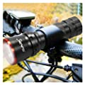 SAVFY� High Power 5w Cree LED Bike Bicycle Cycle Head Front Lamp Light Flash light Torch Up to 270 lm