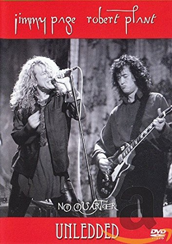 DVD : Page & Plant - No Quarter: Jimmy Page and Robert Plant Unledded (DVD)