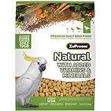ZUPREEM 230357 Natural Large Bird Food, 3-Pound