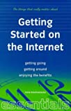 img - for Getting Started on the Internet (Things That Really Matter) book / textbook / text book