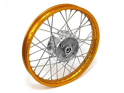 Roue-rayons-Jante-en-or-rayons-en-acier-inoxydable-et-moyeu-Tuning-16-tous-les-types-de-Moped