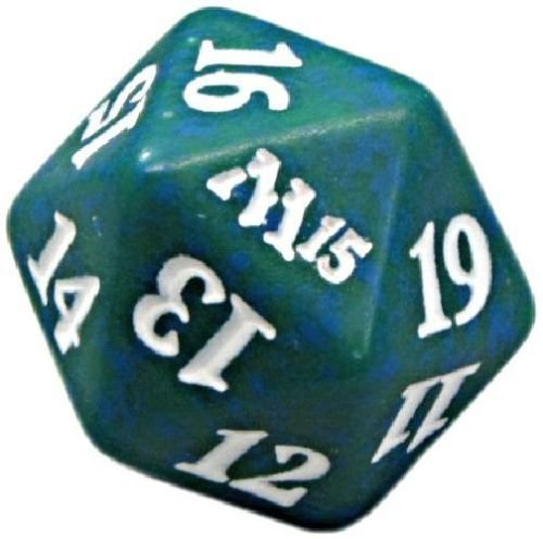 M15 Green D20 Spindown Life Counter - 1