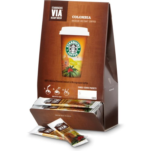 Starbucks VIA® Ready Brew Colombia Coffee (50 count) On sale Best Price