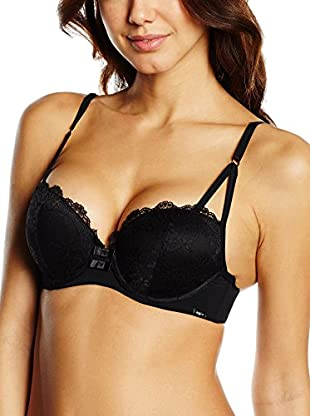 Agio Milano Sujetador Push-Up (Negro)