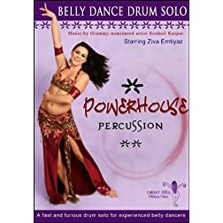 Powerhouse Percussion: A Fast and Furious Belly Dance Drum Solo