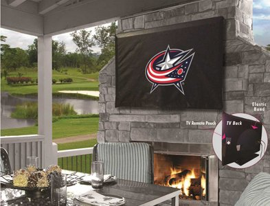 Columbus Blue Jackets TV Covers Television Protector