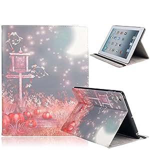 Christmas Series Protective Case for iPad 2/3/4 Pumpkin & Moon