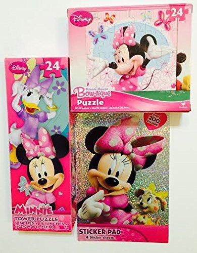 Minnie Bowtique 24 Pc Puzzle, 2 Assorted [4 Retail Unit(s) Pack] - 47063