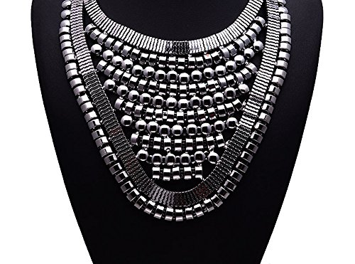 Girl Era Evening Party Best Bling Necklace Cleopatra Charm Necklace(black)