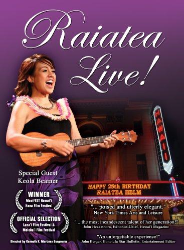 Raiatea Helm Live at the Historic Hawaii Theatre [DVD] [Import]