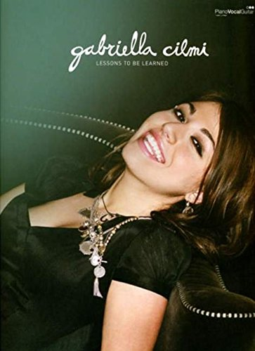 Cilmi Gabriella Lessons to Be Learned Pvg: (Piano/vocal Songbook)