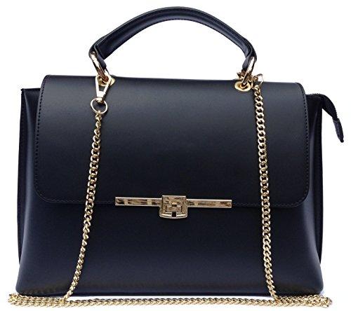 milano nobel italienische echt leder damen handtasche. Black Bedroom Furniture Sets. Home Design Ideas
