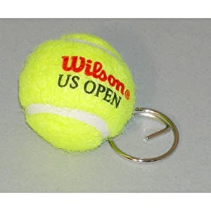 Wilson Tennis Ball Keyring from Amer Sports Uk (wilson)