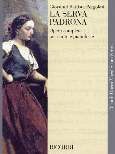 ペルゴレージ : オペラ「奥様女中」/リコルディ社ピアノ・ヴォーカル・スコア