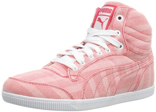 Puma Womens Glyde Court Mashup Wn's Hi-Top Slippers Pink Pink (paradise pink 02) Size: 37.5