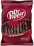 Dr. Pepper Flavored Candy Twists - 5oz Pack - Made With Real Dr. Pepper - Dr. Pepper Twizzlers Licorice Like Candy