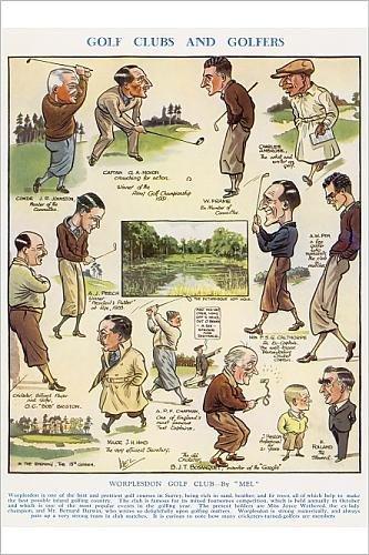 Photographic Print Of Worplesdon Golf Club