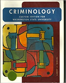 a summary of chapter 6 of the book criminology by larry j siegel We have meticulously scoured the web to track down all of the free book notes, study guides, book summaries, chapter summaries, and analyses available for thousands.