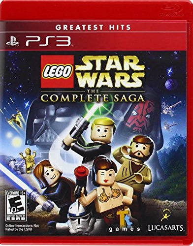 Lego Star Wars: The Complete Saga- Greatest Hits - Playstation 3 (Star Wars Games For Ps3 compare prices)