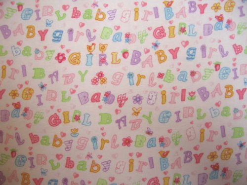 SheetWorld Round Crib Sheets - Baby Girl Print - Made In USA