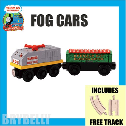 Fog Cars with Free Track from Thomas the Tank Engine and Friends Wooden Railway Train System - Buy Fog Cars with Free Track from Thomas the Tank Engine and Friends Wooden Railway Train System - Purchase Fog Cars with Free Track from Thomas the Tank Engine and Friends Wooden Railway Train System (Brybelly.com, Toys & Games,Categories,Play Vehicles,Trains & Railway Sets)