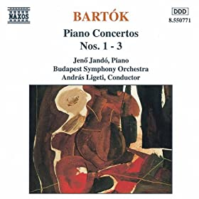 Bartok: Piano Concertos Nos. 1, 2 And 3
