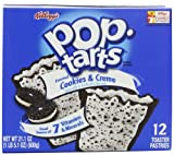 Pop-Tarts, Frosted Cookies & Cream, 12-Count Tarts (Pack of 6)