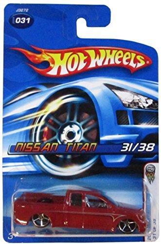 nissan-titan-2006-first-editions-31-dark-red-oh5-wheels-by-mattel