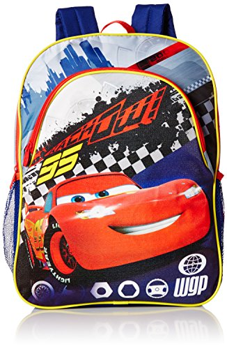 Disney Boys' Cars Light-Up Backpack