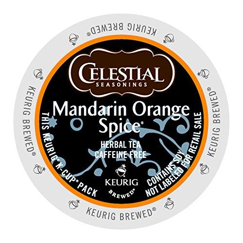 Celestial Seasonings Mandarin Orange Spice Herbal Tea K-Cups 96ct (Brisk Fruit Punch compare prices)