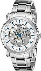 Stuhrling Original Men's 387.33112 Delphi Automatic Skeleton Stainless Steel Watch