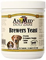 AniMed Pure Brewer's Yeast Powder for Dogs, 16-Ounce