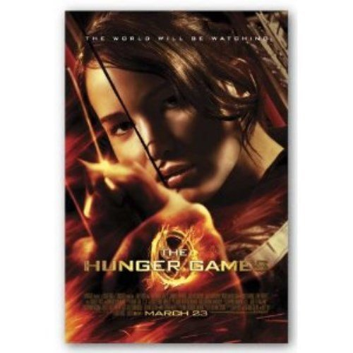 Pyramid America Hunger Games Katniss Poster, 22 by 34-Inch