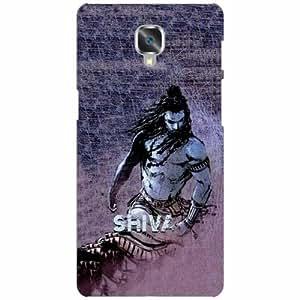OnePlus 3 Back Cover - Shiva Designer Cases