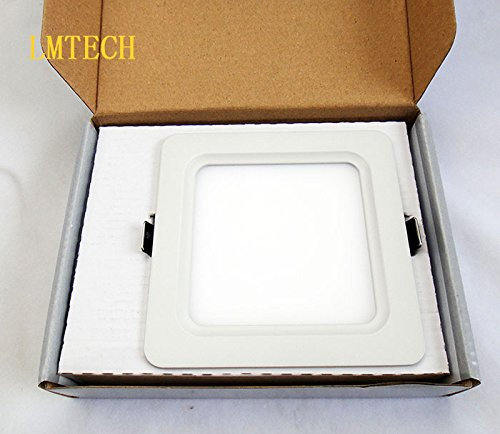 7Pcs 2014 New Square Led Ceiling Light 5W Ultra Thin Design Smd 2835 Ceiling Panel Light