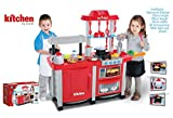Electronic Red Lights And Sounds Childrens Kids Pretend Play Kitchen Cooking Set