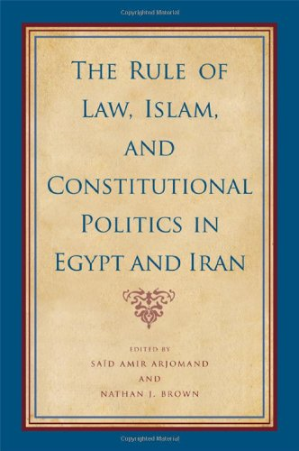The Rule of Law, Islam, and Constitutional Politics in Egypt and Iran (SUNY Series, Pangaea II: Global/Local Studies)