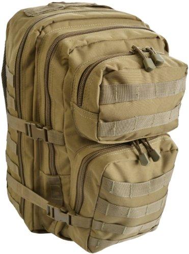 Assault Pack US Rucksack large, 50 Liter Coyote