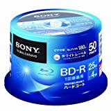 SONY Blu-ray Discs 50 Spindle - BD-R 25GB 4X for VIDEO - 2012by Sony