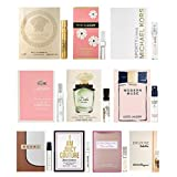 10 Women's Designer Fragrance Vial Sample
