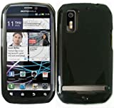 Black TPU Case Cover for Motorola Photon 4G AB855