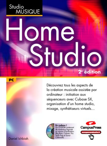 livre home studio 1 livre 1 cd rom. Black Bedroom Furniture Sets. Home Design Ideas