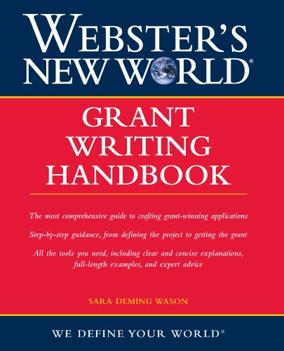 Webster's New World Grant Writing Handbook PDF