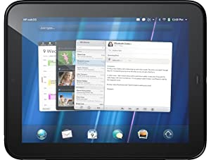 HP TouchPad 9.7 inch Tablet PC (32GB, Glossy Black) - UK Version