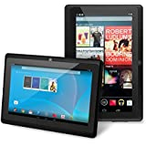 "Chromo Inc® 7"" Tablet Google Android 4.4 with Touchscreen, Camera, 1024x600 Resolution, Netflix, Skype, 3D Game Supported - Black"