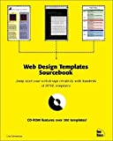 img - for Web Design Templates Sourcebook by Schmeiser, Lisa (1997) Paperback book / textbook / text book