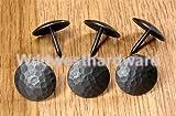 "1"" Dia. Round Distressed Clavos, Oil Rubbed Bronze Finish (Lot of 6), #CLR-100-ECON"