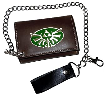 Nintendo The Legend Of Zelda Twilight Princess Biker Wallet With Chain