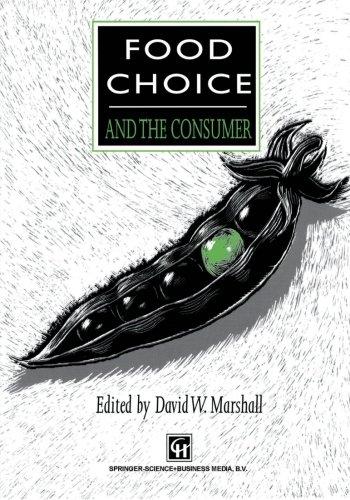 Opción del alimento y del consumidor