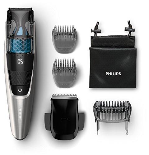 Philips BT7220/15 Series 7000 Vakuum Bartschneider, schwarz / silber